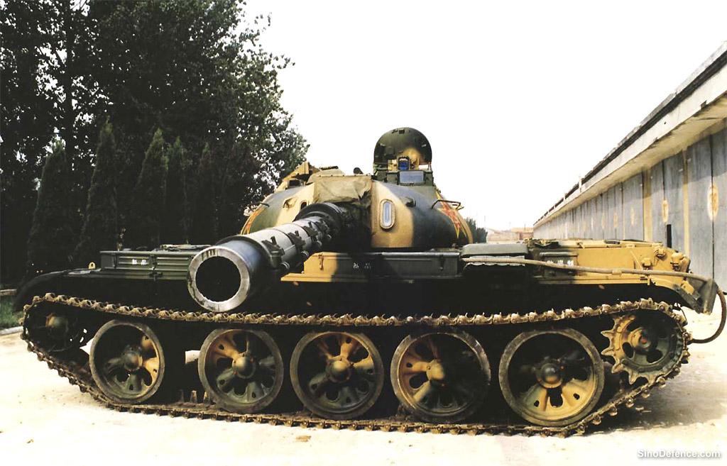 The Chinese Type 79 Tank aka Type 69-III