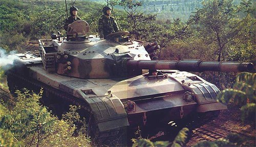 The Chinese Type 88C Tank