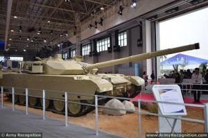 MBT-3000 Main Battle Tank 2012