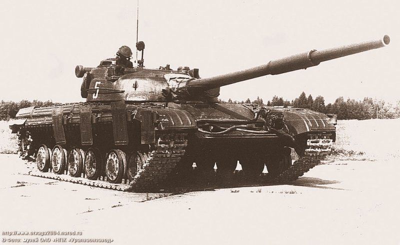 One of the early Object 172 Prototypes