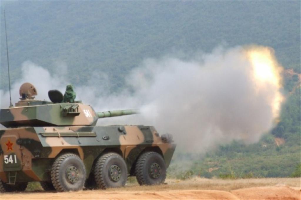 Chinese PTL02 Tank Destroyer - TankNutDave com
