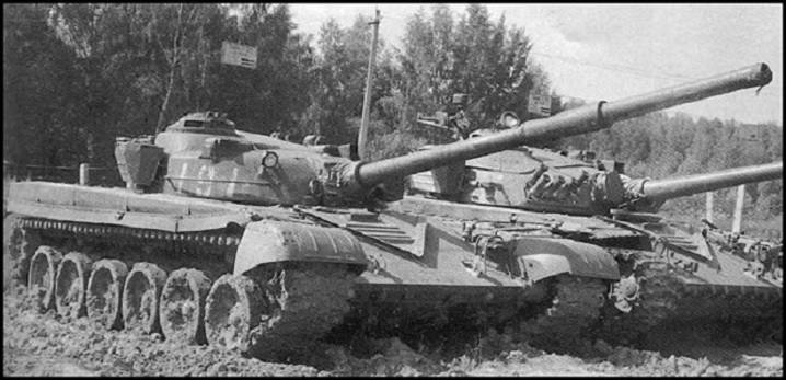 T-72K and T-72A