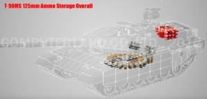 T-90MS Ammo Storage