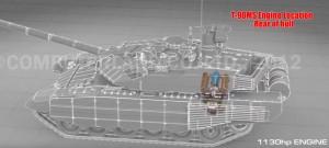 T-90MS Engine Location