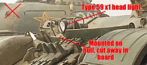 Differences between Type 69-II and the Type 59