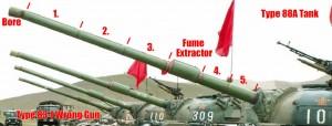 Type 83-I Main Gun
