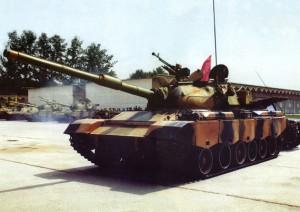 Chinese Type 88 Main Battle Tank