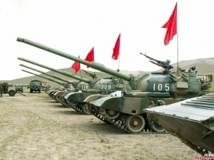 The Chinese Type 88A Tank