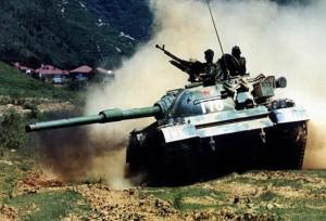 The Chinese Type 88B Tank