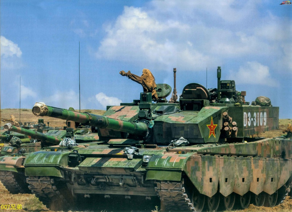 The Chinese Type 99A2 Main Battle Tank