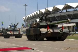 Type59G Tank Tanzanian Army