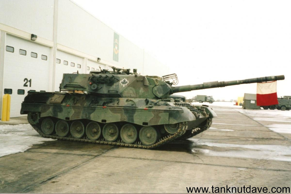 The Canadian Leopard C1 Tank Tanknutdave Com