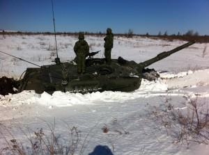 Sinking Leopard 2 Tank