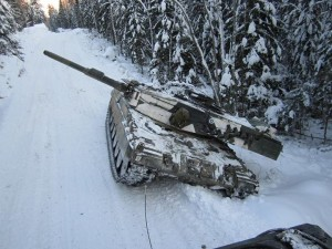 Leopard 2A4 Banked