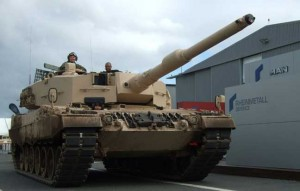 Leopard 2A4 South Africa