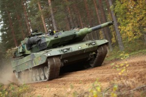 Swedish Stridsvagn 122 Tank